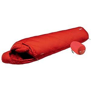 モンベル(mont-bell) 寝袋 UL.スパイラル アルパイン ダウンハガー 800 #0 サンライズレッド [最低使用温度-31度] 1121788 SURD