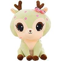 123Loop 30cm Sika Deer ぬいぐるみ 30cm ぬいぐるみ 動物 ソフト シミュレーション かわいい ぬいぐるみ かわいい 鹿 コレクション おもちゃ 人形 One size CCH-80306004
