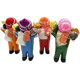 【エケコ人形】世界仰天○ュースで紹介!幸せを呼ぶ願いを叶えてくれる?!エケッコー人形 Mサイズ