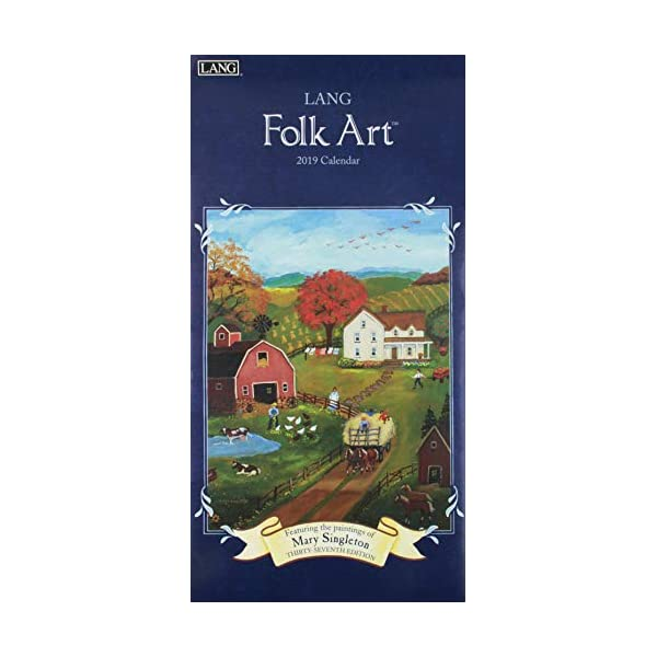 Lang Folk Art 2019 Calendarの商品画像
