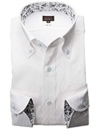 RSD170-001 (スタイルワークス) メンズ長袖ワイシャツ チェック | 白