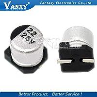 10PCS電解コンデンサ25V 22UF 6 * 5mm SMDアルミ電解コンデンサ22uf 25v