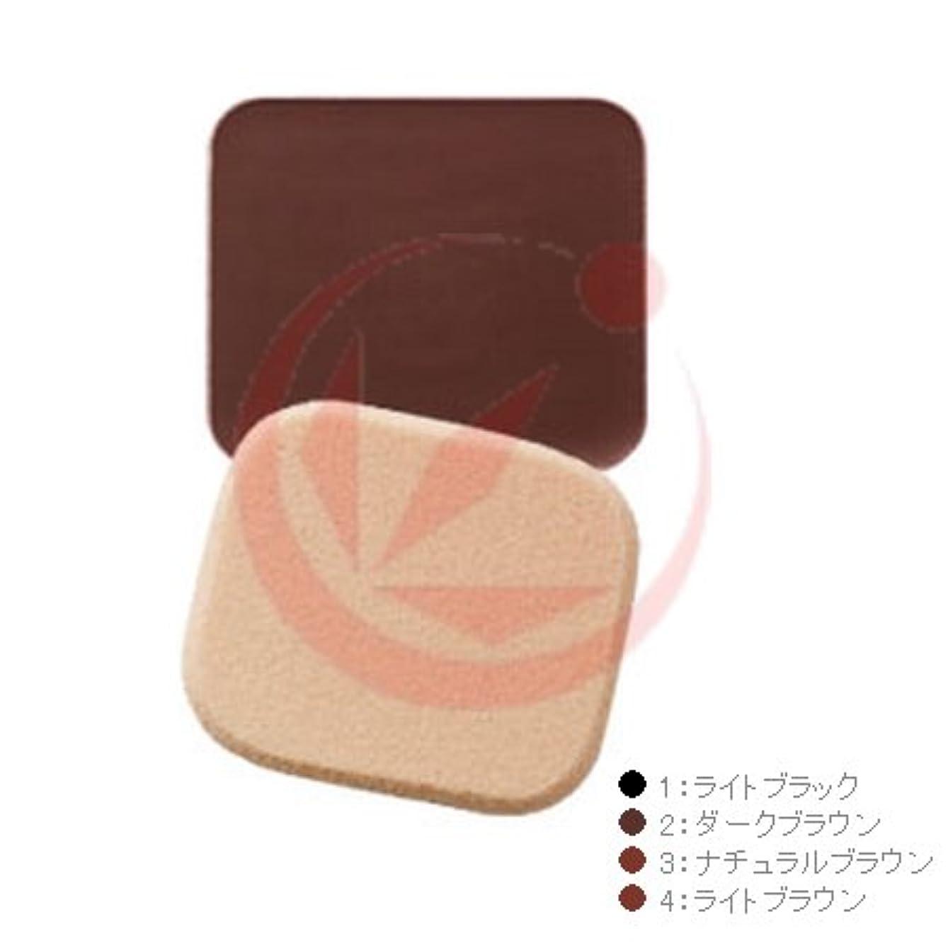 鏡まともな取得イリヤ 彩(いろどり) ヘアファンデーション 13g 詰替用 パフ付 ダークブラウン