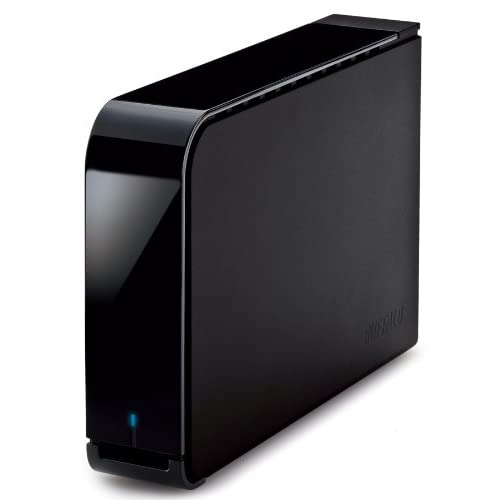 BUFFALO ターボPC EX2 USB3.0用 外付けHDD 3TB ブラック HD-LBV3.0TU3-BKC