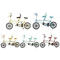 B Baosity 5個 1:10スケール メタル製 ダイキャスト バイクモデル 手工芸 自転車玩具