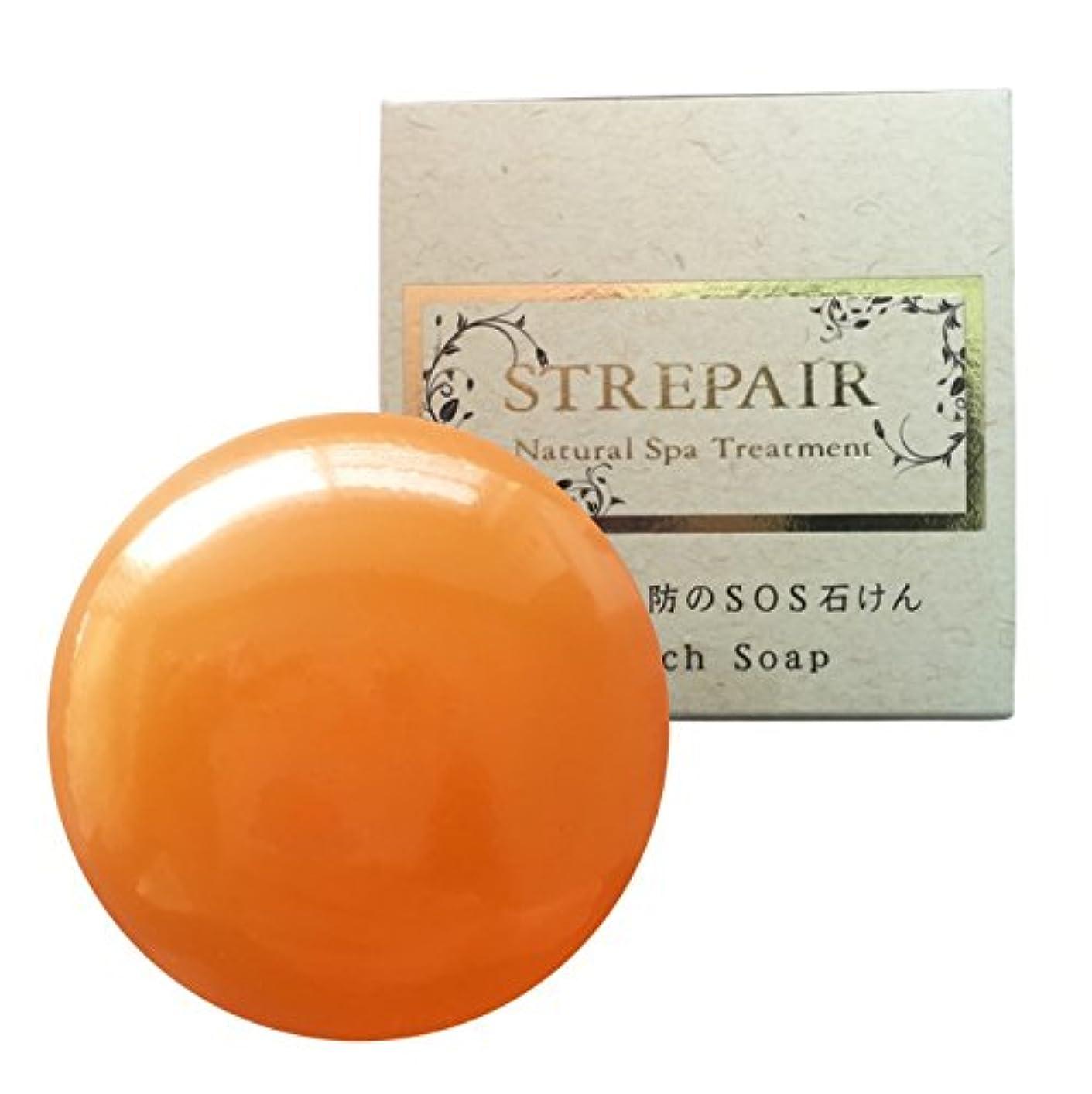 肌寒い致命的なプランター(ストレピア) STREPAiR ピンチ石けん 120g