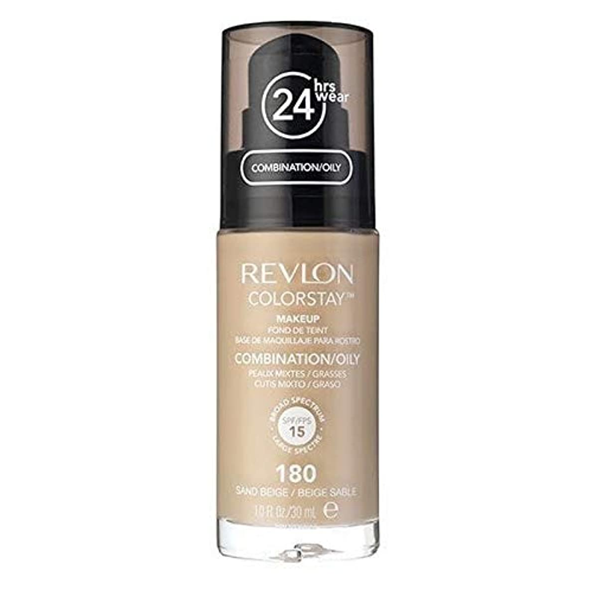 [Revlon ] レブロンカラーステイ基盤コンビ/油性サンドベージュ30ミリリットル - Revlon Color Stay Foundation Combi/Oily Sand Beige 30ml [並行輸入品]