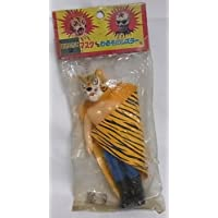 昔のナカジマ タイガーマスクvsわるものレスラー タイガーマスクミニソフビマスク脱着