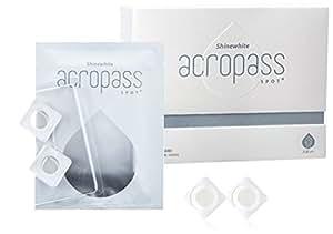 アクロパス スポットプラス くすみ シミ用 (8パッチ入り) アスコルビン酸 ナイアシンアミド配合ヒアルロン酸マイクロニードルパッチ
