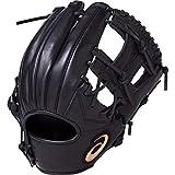 asics(アシックス) 軟式 野球用 グローブ 内野手用 (右投げ用) 一般用 DIVE サイズ8 2019年モデル 3121A133 ブラック LH(右投げ用)