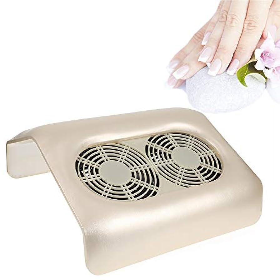 かなりの出くわすトイレ2ファンマニキュアネイルアートジェルニス研磨ダスト吸引コレクターネイルダストコレクターのための掃除機