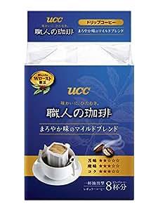 [訳あり(賞味期限 2019年5月22日)] UCC 職人の珈琲 ドリップコーヒー マイルドブレンド 8P×6個