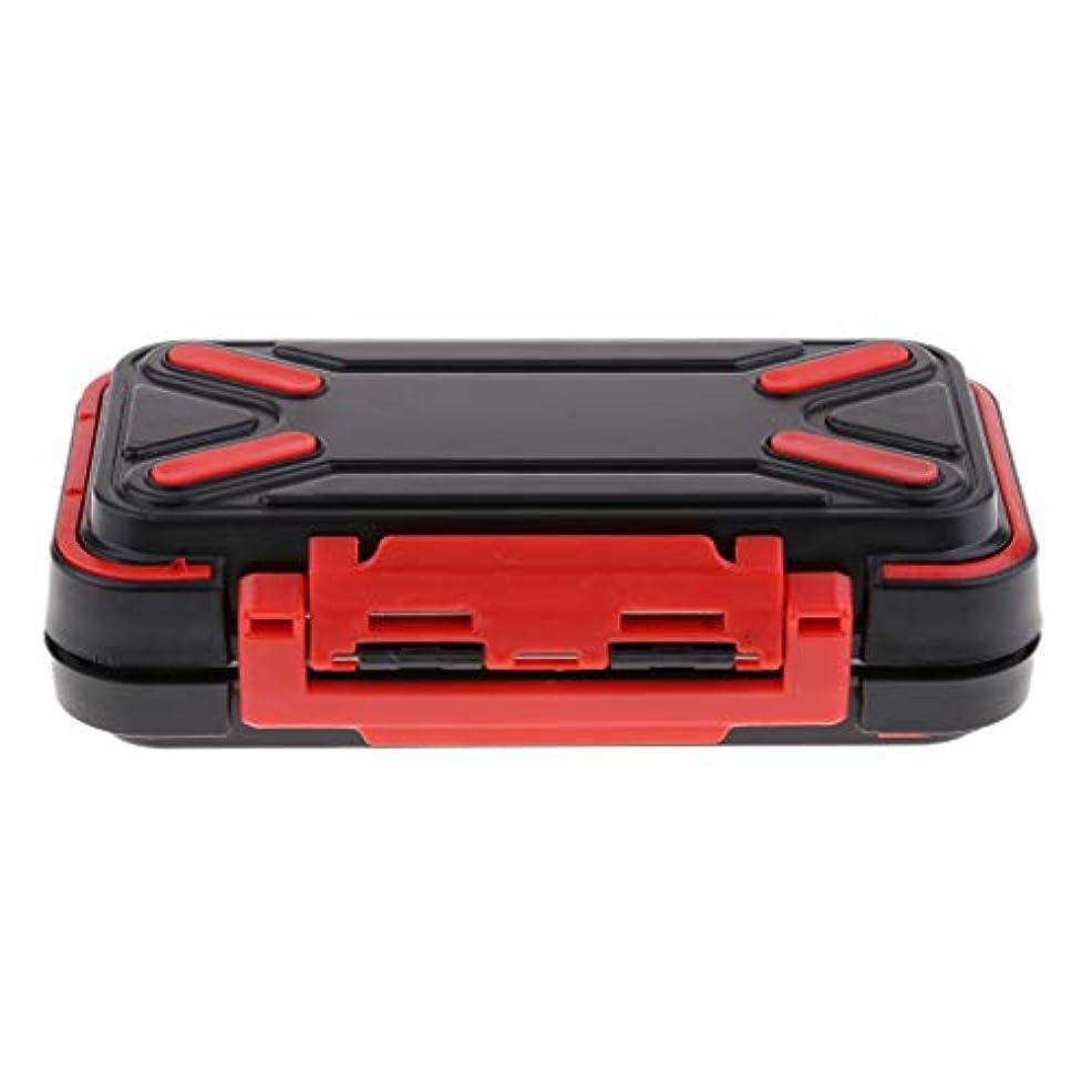 食べる小川マーカーF Fityle フライケース ルアー フック タックルボックス 16仕切り 耐摩耗性 防水 全2色