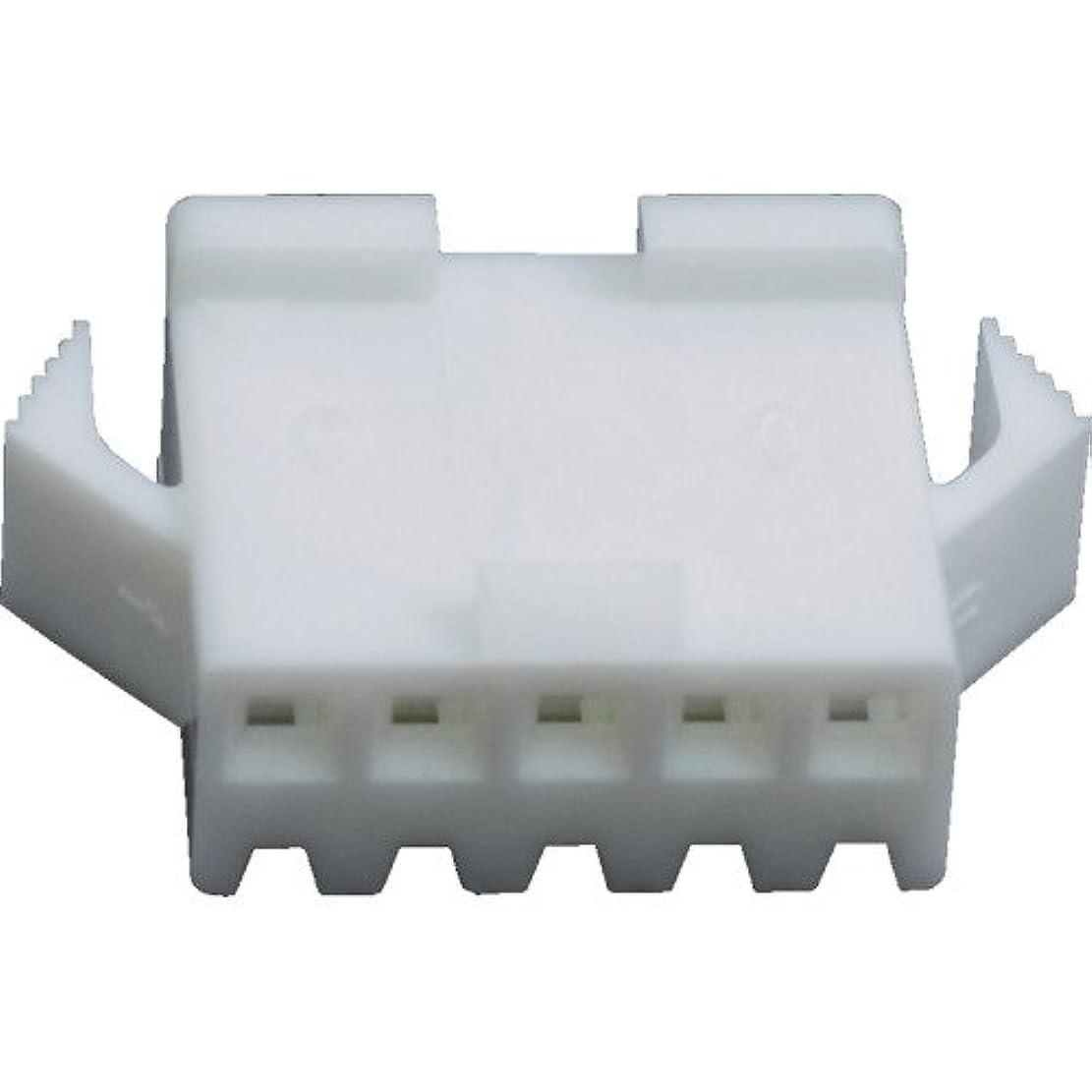 意気揚々買収下に向けますTRUSCO JST SMコネクタ用ハウジング プラグ SMP06VNC
