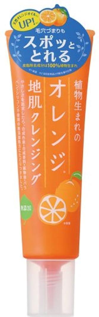 冷淡な摘む天皇植物生まれのオレンジ地肌クレンジングN