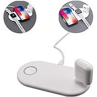 ワイヤレス充電器 に適して Iphonexs アップルウォッチ ヘッドホン 3つのデバイスの同期充電 多機能 ワイヤレス 充電器