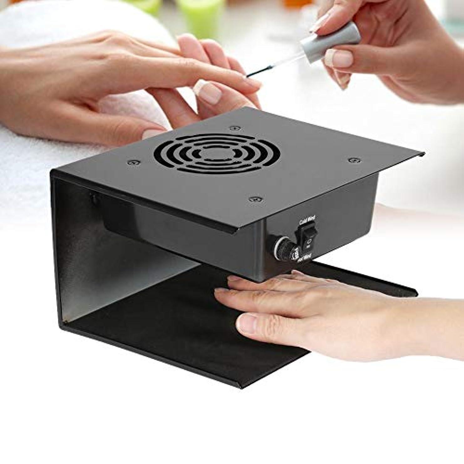リールマトロン電気陽性300W ネイルドライヤー ホット&コールド ファン 強力 速乾 過電保護 手/両手を乾かす (EUプラ グ 変換プラグなし)