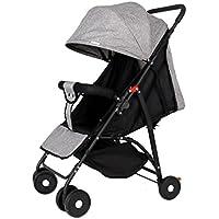 赤ちゃんのベビーカーの折り畳み式のプッシャーポータブル超軽量の多機能の傘は、子供の座っていることができます赤ちゃんの四輪車のカート (色 : C)