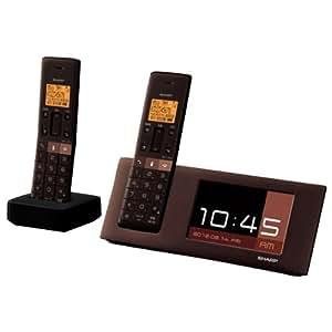 シャープ JD-4C2CW-T  コードレス電話機