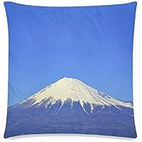 可愛い 子供 青空と富士山 座布団 45cm×45cm