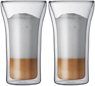 bodum ASSAM ダブルウォール保温グラス 0.4L 2個セット 4547-10