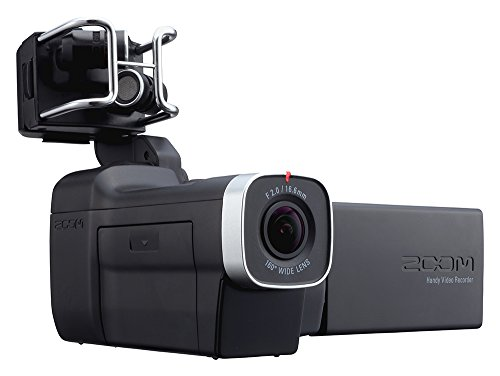 ZOOM ズーム ハンディビデオカメラレコーダー HDビデオ+4トラックオーディオ Q8