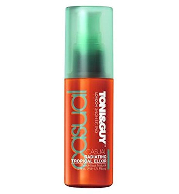 モンスターフルーツ野菜ポイントToni & Guy: Radiating Tropical Elixir 50ml - トニ&男:熱帯エリクシルの50ミリリットルを放射 (Toni & Guy) [並行輸入品]