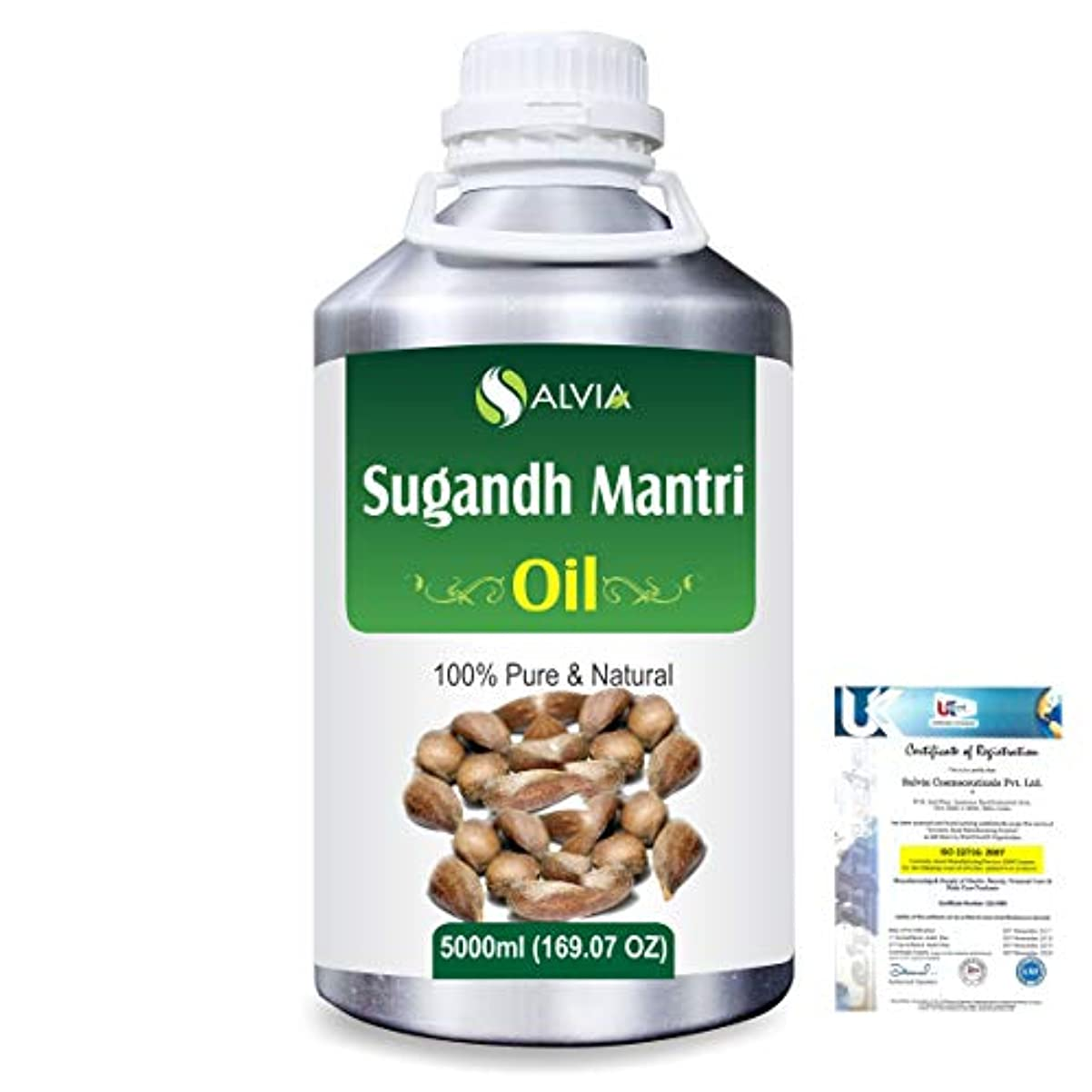 邪悪な観客社会Sugandh Mantri (Homalomena aromatic) 100% Natural Pure Essential Oil 5000ml/169fl.oz.
