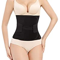 Trendyline Women Postpartum Girdle Corset Recovery Belly Band Wrap Belt