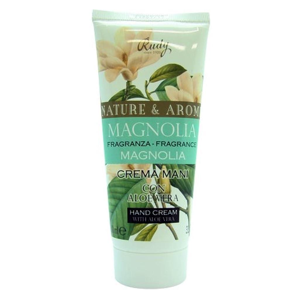 不完全説教する意志RUDY Nature&Arome SERIES ルディ ナチュール&アロマ Hand Cream ハンドクリーム  Magnolia マグノリア