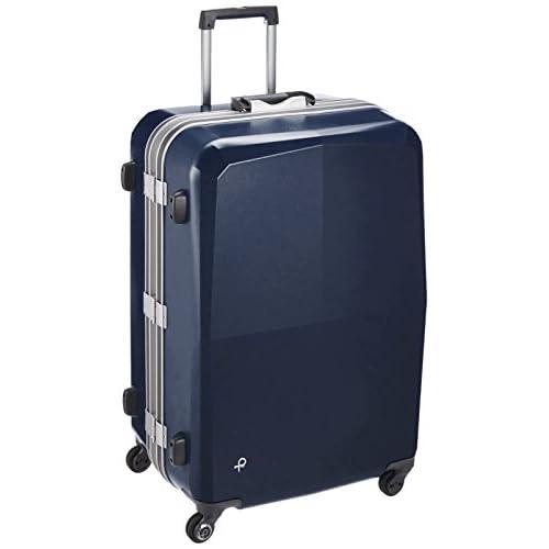[プロテカ] スーツケース 日本製 エキノックスライトオーレ サイレントキャスター  保証付 96L 66cm 5kg 00742 03 コズミックネイビー