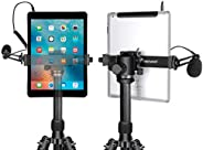 Neewer iPad Tablet Tripod Mount Adapter Holder, 6.3-9.25 inches/16-23.5 Centimeters Adjustable Clamp for iPad