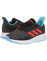 [adidas(アディダス)] キッズランニングシューズ??スニーカー?靴 Duramo 9 (Little Kid/Big Kid) Black/Solar Red/Grey 2.5 Little Kid (20.5-...