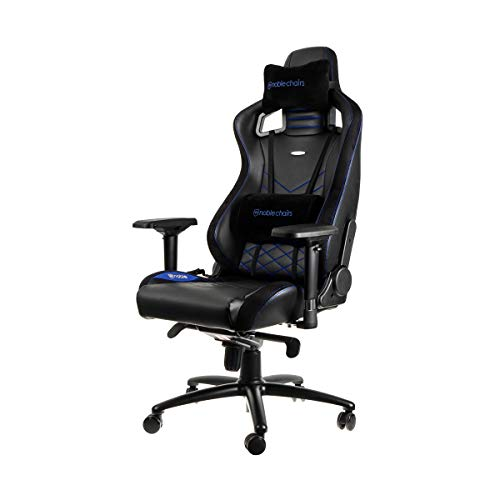 noblechairs EPIC ゲーミングチェア【 ブルー 】 日本正規代...