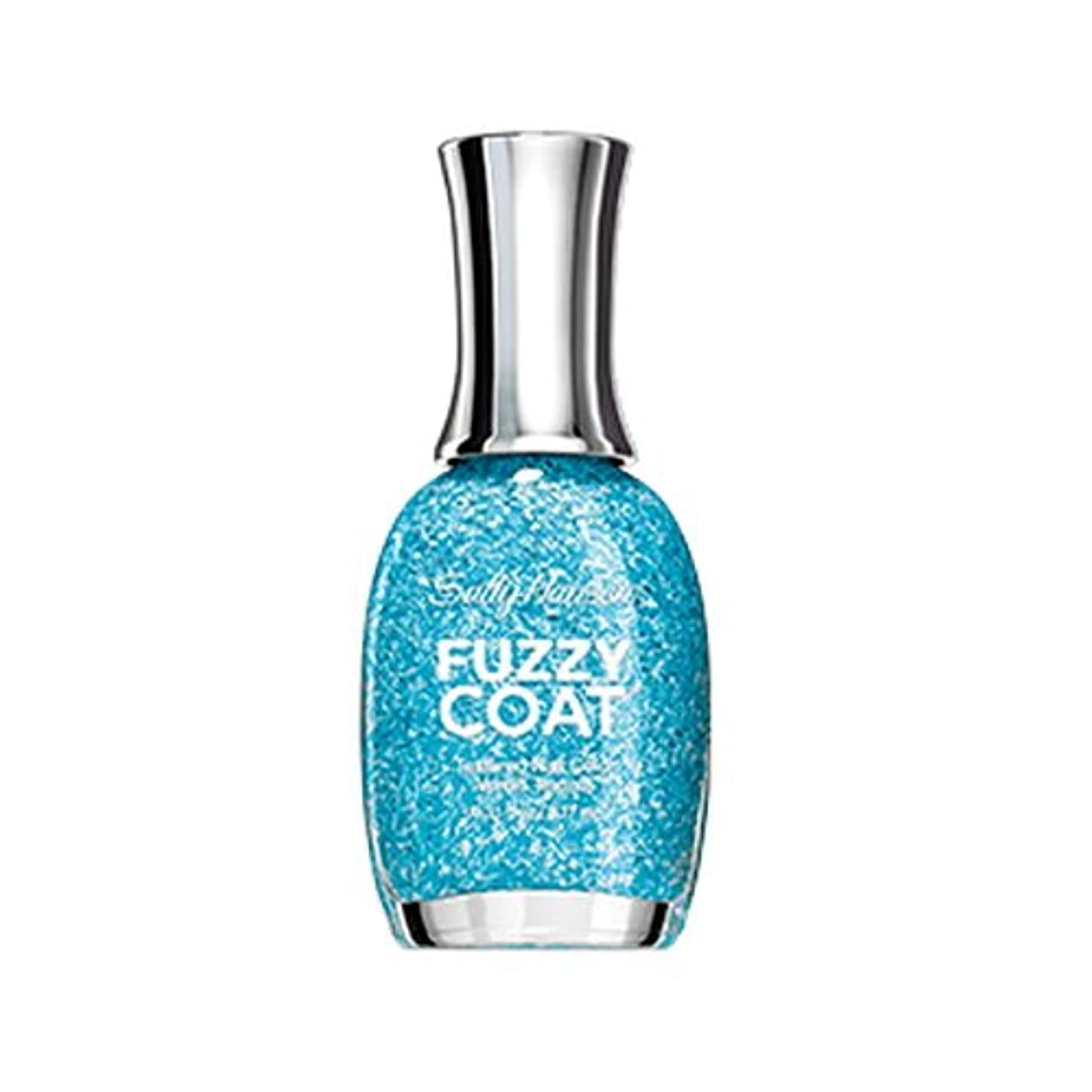 中間食用自宅でSALLY HANSEN Fuzzy Coat Special Effect Textured Nail Color - Wool Knot (並行輸入品)
