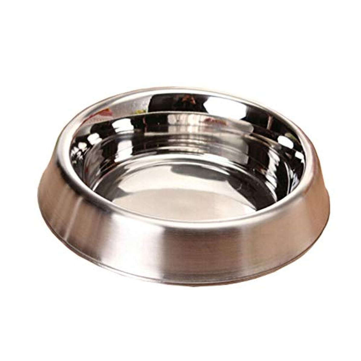 朝会員手術Xian 小型/中型/大型犬、ペットフィーダボウル、ウォーターボウル用ラバーベース付きステンレススチールドッグボウルパーフェクトチョイス Easy to Clean Non-Skid Bowls for Dogs (Size : 6.2*4.6*1.4)