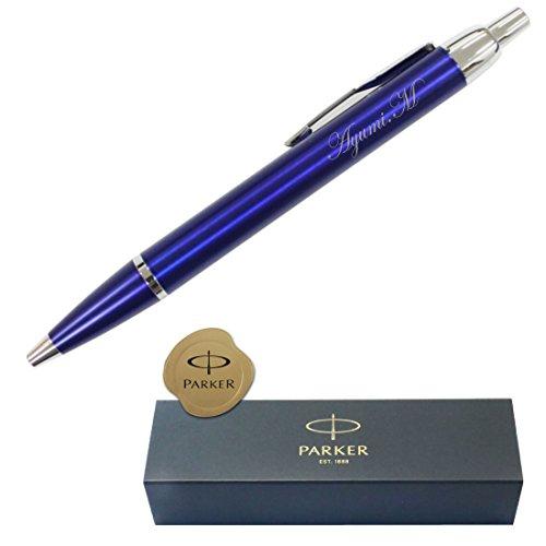 パーカー 高級ボールペン/PARKER IM/(ブルー) 名入/正規品 保証書付