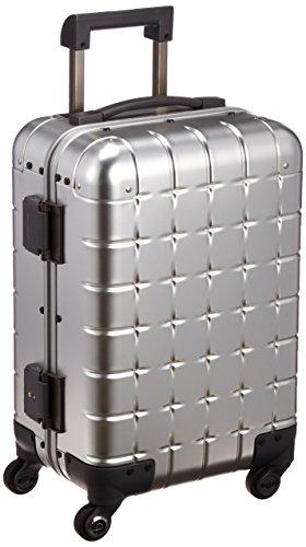 [プロテカ] 日本製アルミニウムスーツケース 360(サンロクマル)アルミニウム 36L 3年保証付き 機内持込可 保証付 36L 54cm 4.8kg 00671 11 シルバー