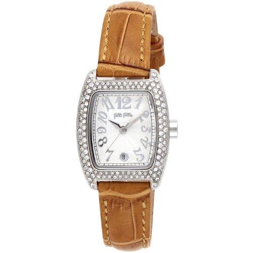 [フォリフォリ]FOLLI FOLLIE 腕時計 S922 シルバー文字盤 カーフ革ベルト S922ZISLV-LBR レディース 【並行輸入品】