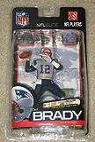 McFarlane Toys NFL Sports Picks Exclusive NFL Elite Series 1 Action Figure Tom Brady (New England Patriots) Silver