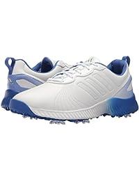 (アディダス) adidas レディースゴルフシューズ?靴 Response Bounce Footwear White/Footwear White/Hi-Res Blue 5.5 (22.5cm) M