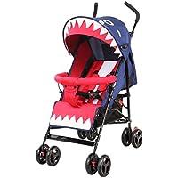 赤ちゃんのベビーカーを折りたたむシンプルな超軽量折り畳み傘サマーポータブルベビーカー