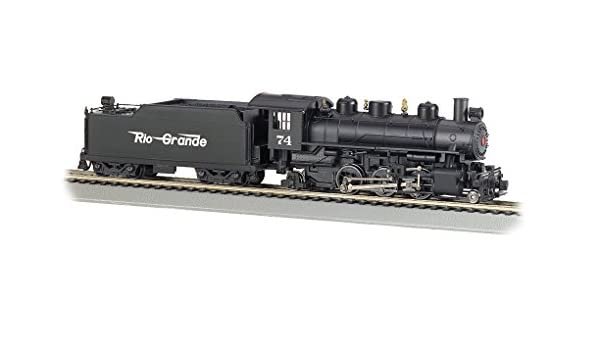 HO Scale RIO GRANDE 2-6-2 with SMOKE Prairie Locomotive Bachmann New 51526