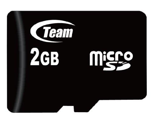 Team MicroSDカード 2GB SD変換アダプタ 動作電圧2.7V~3.6V 質量1g TG002G0MC1XA