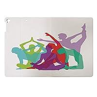 iPad Air2 ケース 超薄型 超軽量 TPU 対応 キズ防止 指紋防止 [オート スリープ/スリー プ解除] 印刷パターン YHH23207