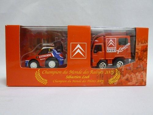 チョロQ シトロエン・クサラWRC2005 セバスチャン・ローブ(レースカー・トラック)