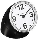 【正規輸入品 メーカー保証付き】 ALESSI アレッシィ Cronotime クロノタイム 置き時計 ブラック 01 Bの写真