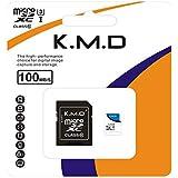 K.M.D MicroSDカード Class10 メモリカード Microsd クラス10 SDHC マイクロSDカード Androidスマートフォン デジカメ 超高速転送 (32GB)