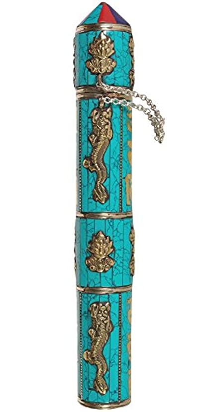 騒乱寺院ダーベビルのテスエキゾチックインディアzce22 LargeサイズTibetan Buddhist Incense Sticksホルダー