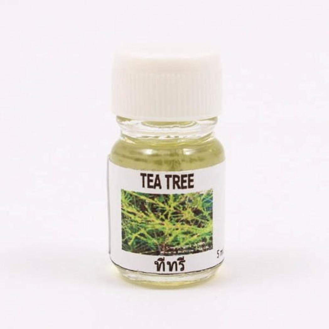 耐久修正傘6X Tea Tree Aroma Fragrance Essential Oil 5ML (cc) Diffuser Burner Therapy